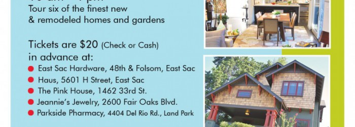 East Sacramento Home Remodeling Tour and Open House