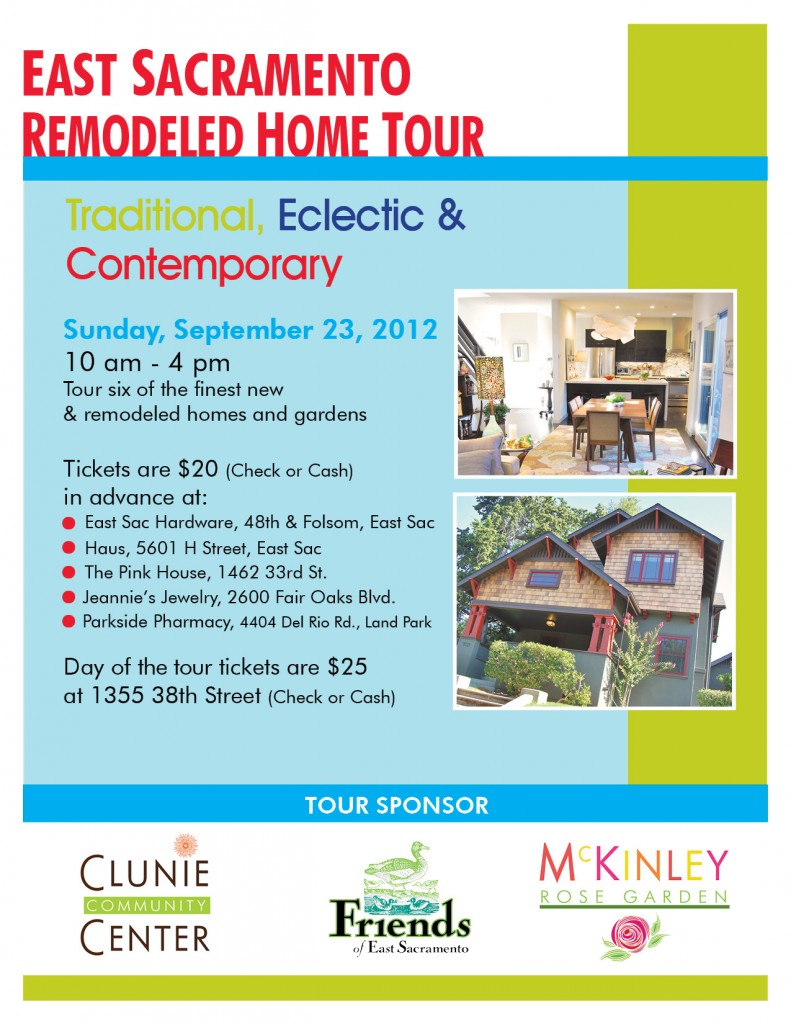 East Sacramento Home Remodeling Tour and Open House - Nathan Sherman