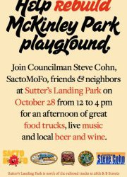 McKinley Park Fundraiser with SactoMoFo