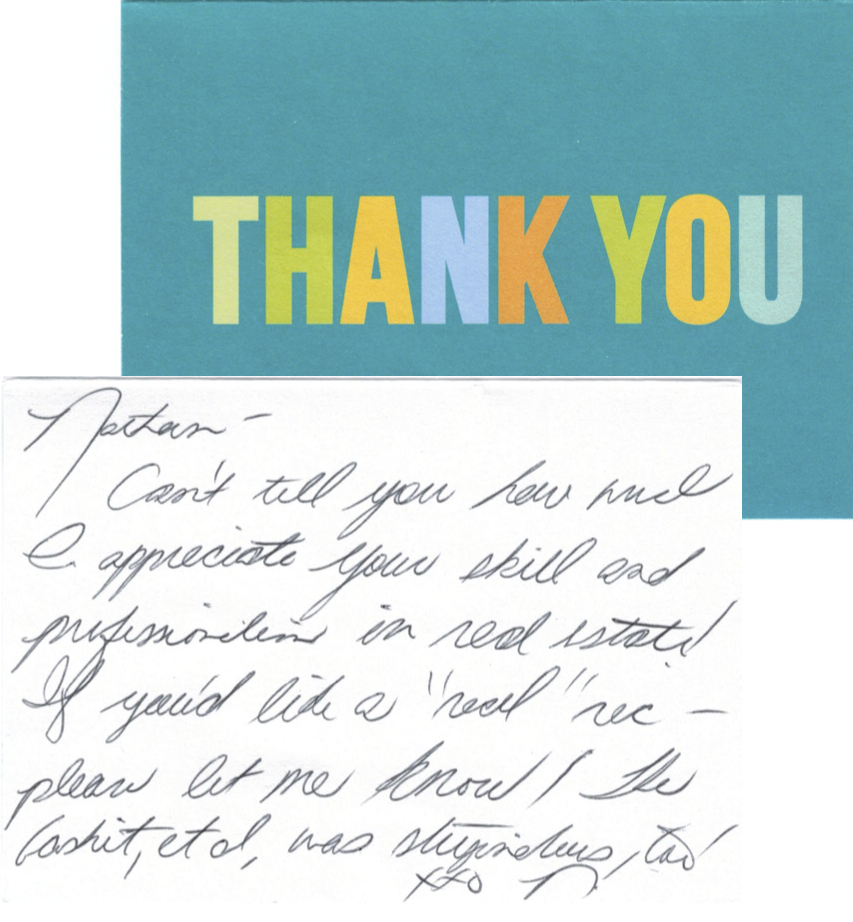 thank you card quote best of sample thank you notes free card