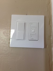 Lutron Maestro Wireless Light Switch Finished