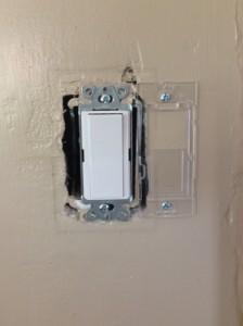 Lutron Maestro Wireless Light Switch Mounting