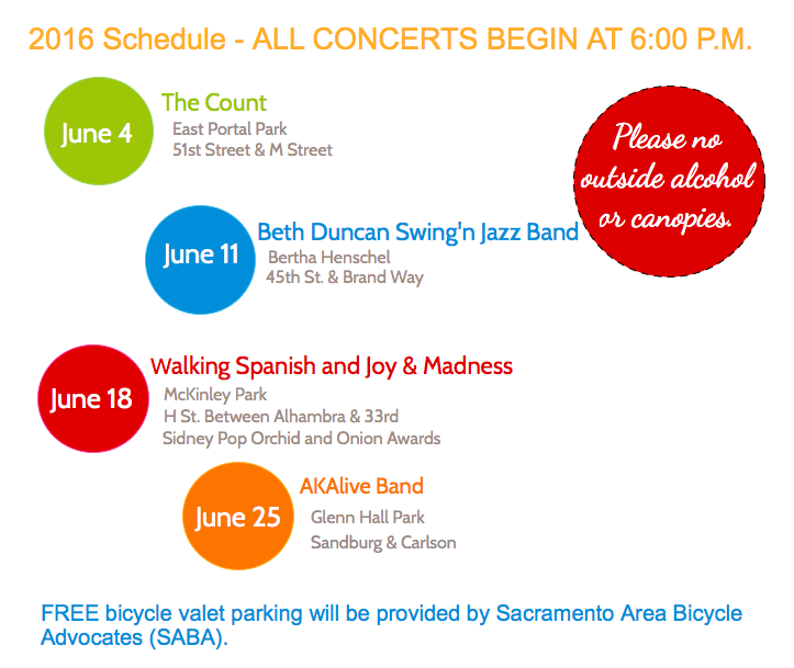 East Sac Pops in the Park 2016