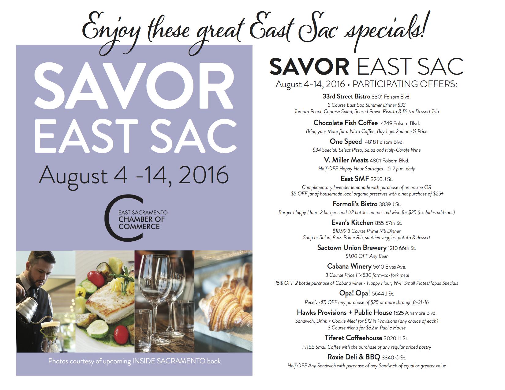 Savor East Sac 2016