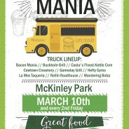 McKinley Park Food Truck Mania March 2017