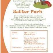 Sutter Park Meeting