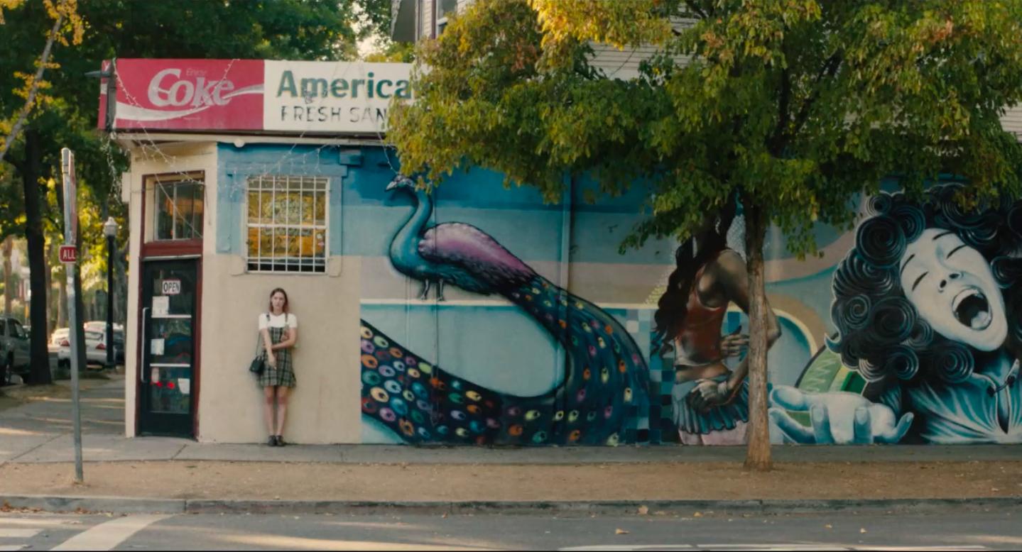Lady Bird Movie American Market and Deli