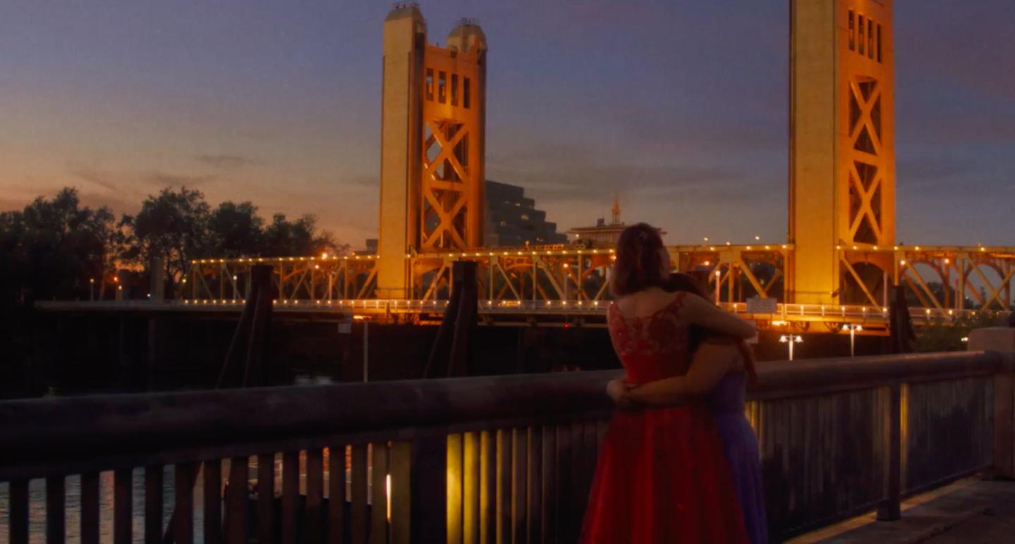 Lady Bird Movie Tower Bridge Sacramento