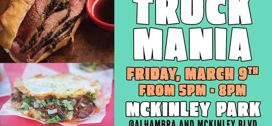 McKinley Park Food Truck Mania 2018 Starts