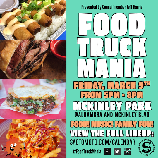 McKinley Park Food Truck Maina March 2018