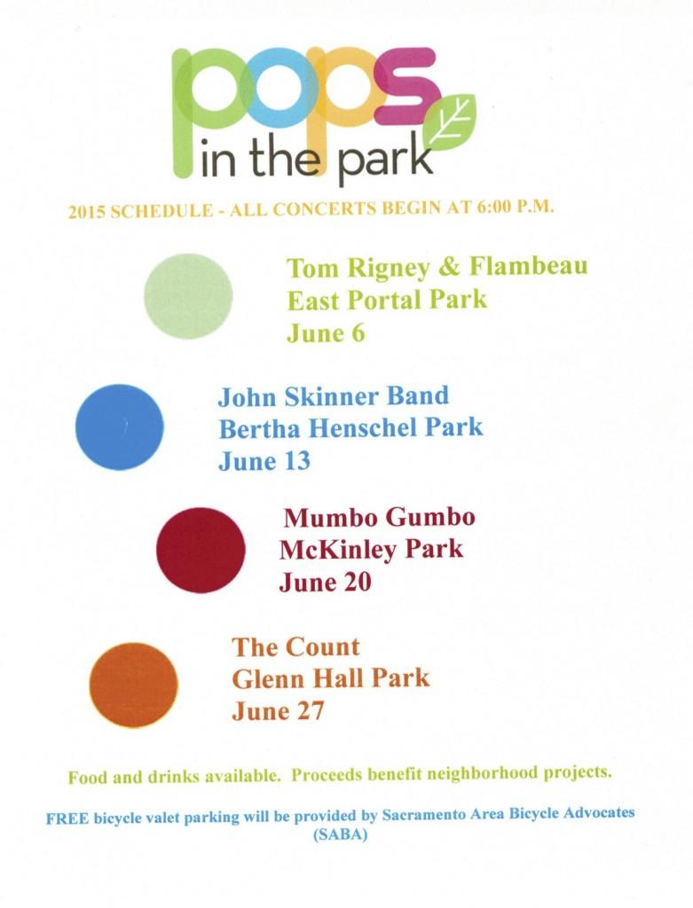 McKinley Park Pops in the Park 2015