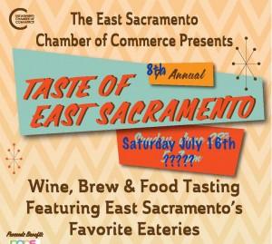 Taste of East Sac 2016 mockup