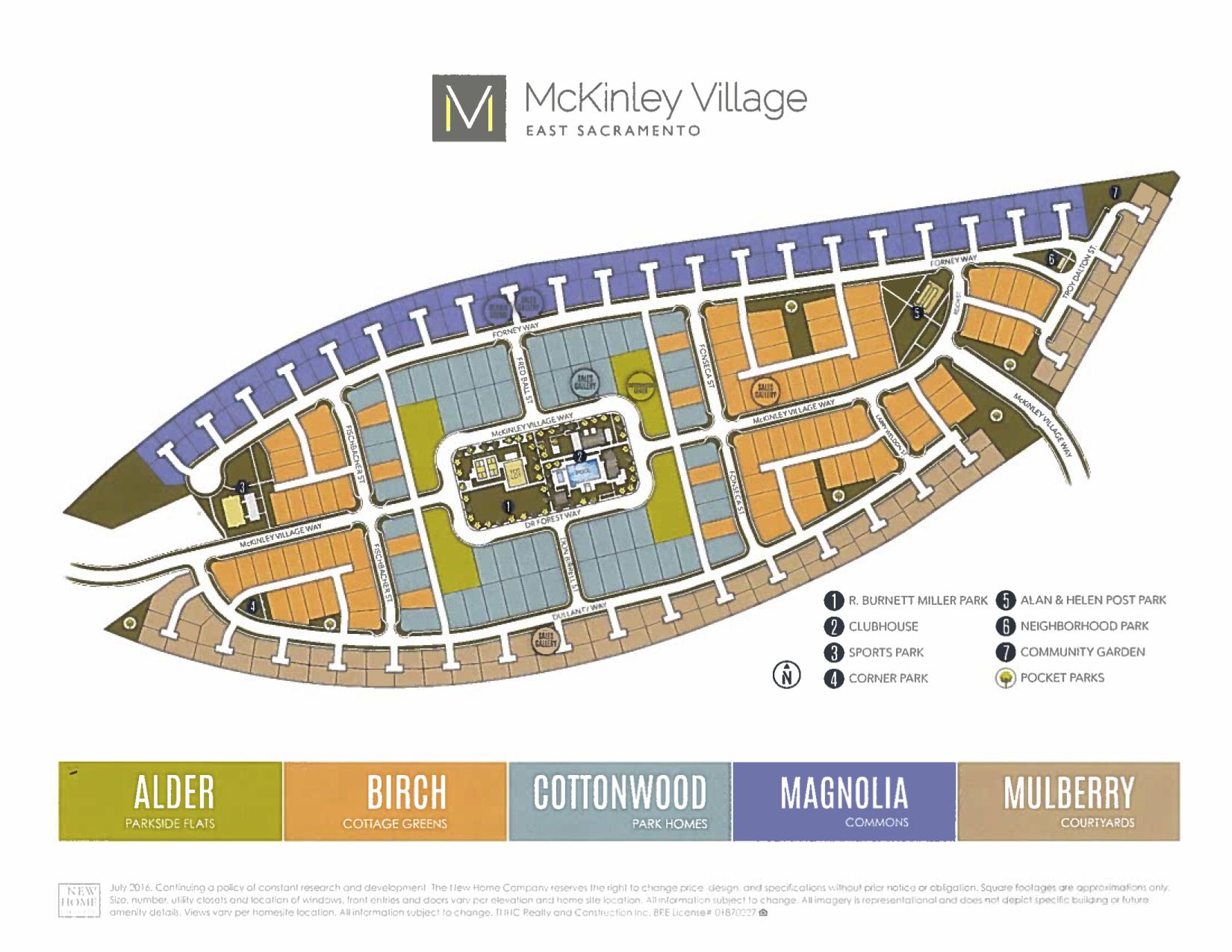 McKinley Village Map