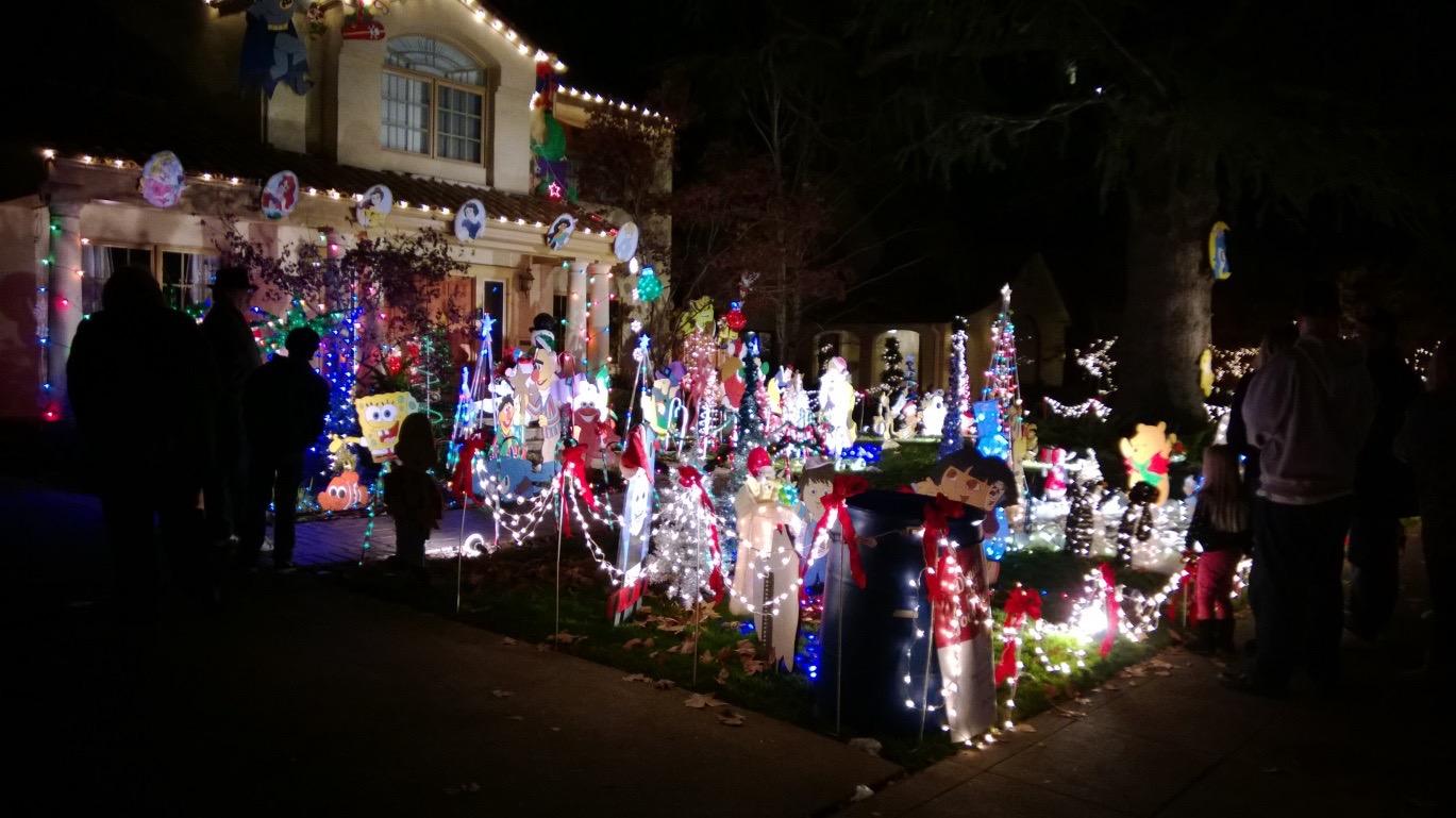 Fab 40 Christmas Lights In Sacramento 2020 Fab 40's Christmas Lights   Nathan Sherman