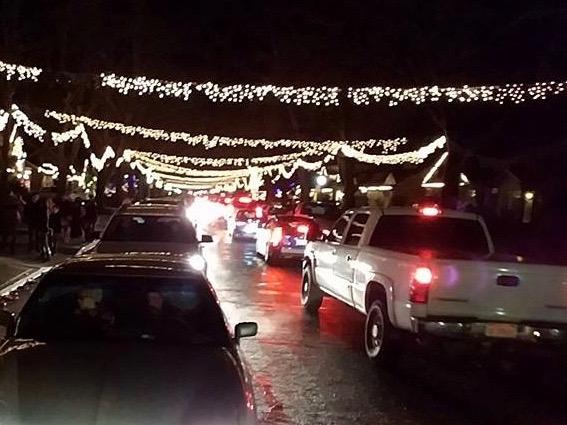 East Sac Fab 40's Christmas Lights